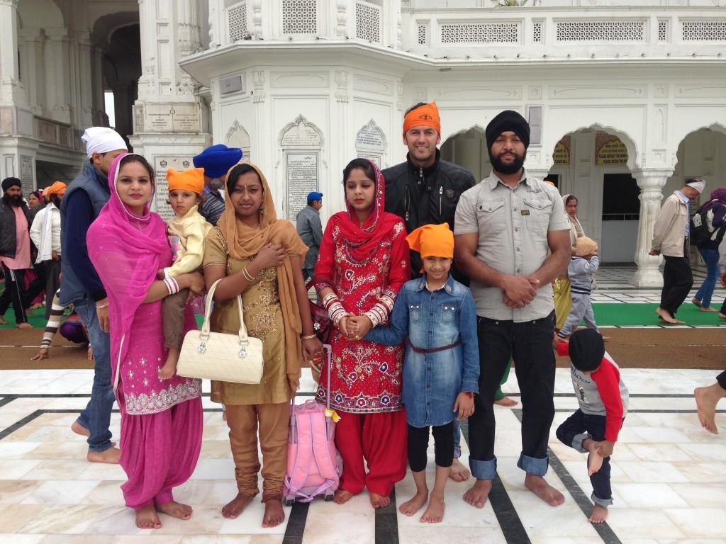 stanovnici Indije će se uvjek rado slikati sa strancem