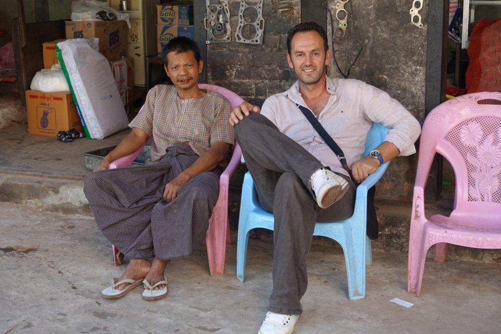 Druženje sa stanovnicima Jangona
