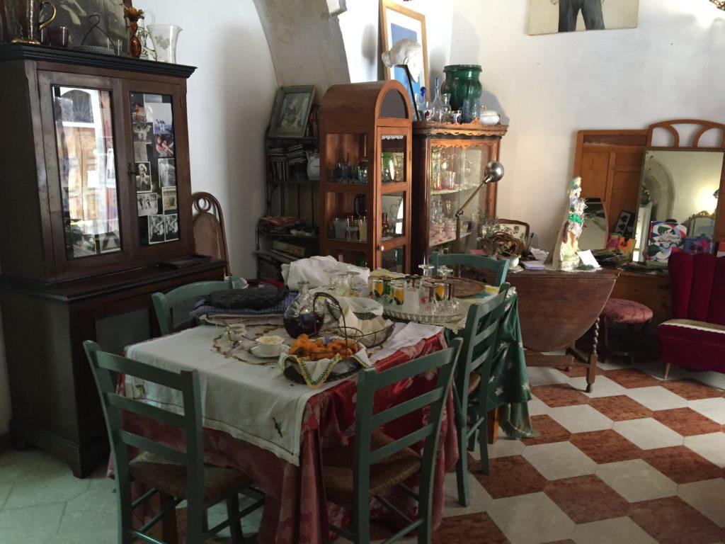 Detalj iz jednog restorana u Sirakusi