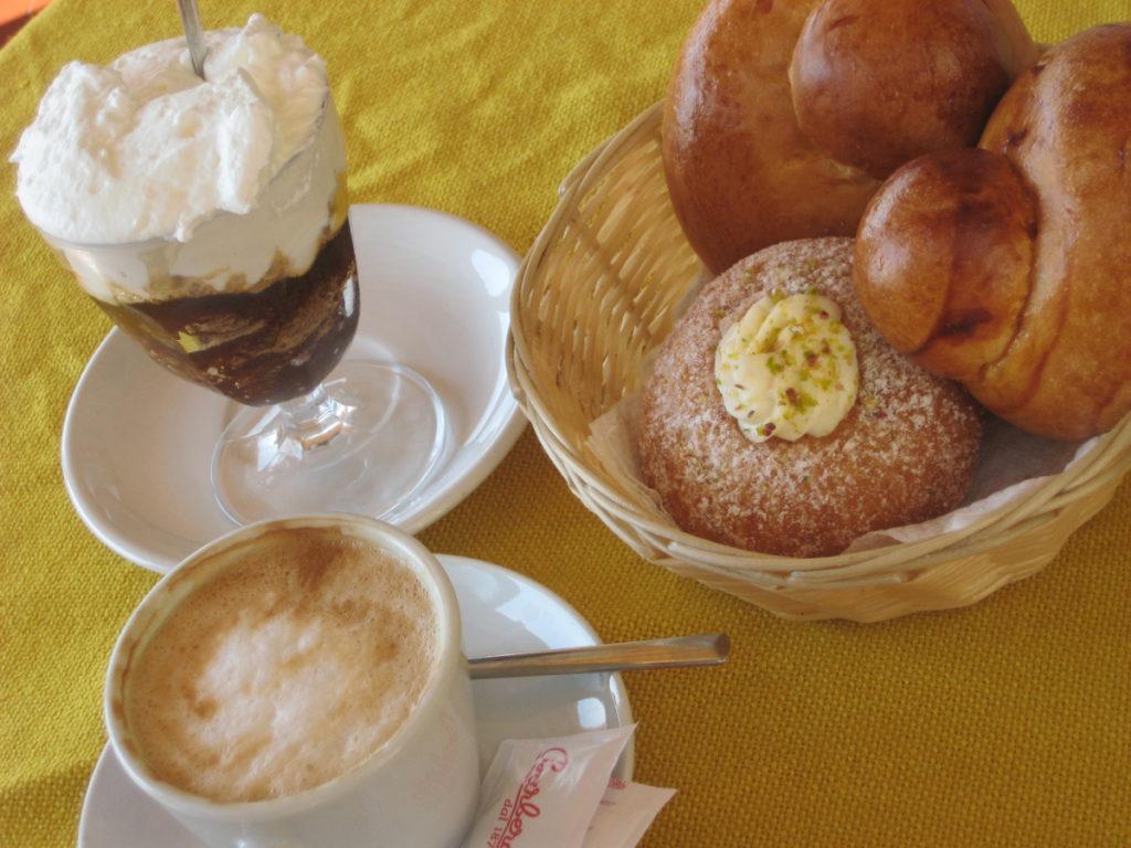 Doručak koji se služi u Modici